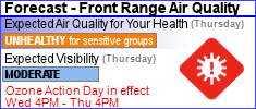 Colorado Air Advisory